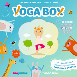 YogaBox - libro e schede Deagostini
